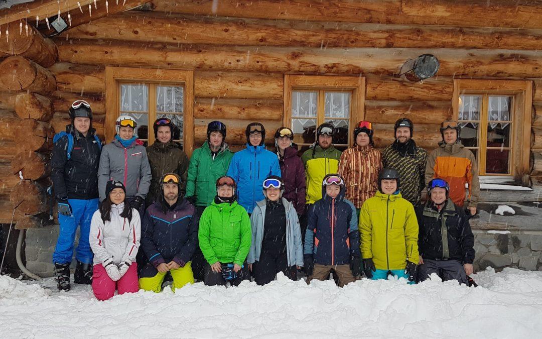 Verschneites Skiweekend des Turnvereins
