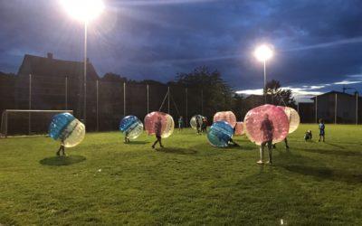 Sportday & Sportnight Tegerfelden mit Bubble Soccer